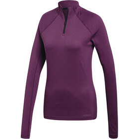 adidas TERREX TraceRocker Running Shirt longsleeve Women purple